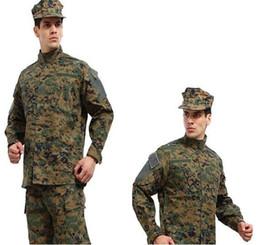 Wholesale Paintball Bdu - hot combat BDU Uniform  military uniform  paintball suit  hunting suit  Wargame,COAT+PANTS BDU-001Green