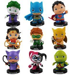 Wholesale Super Hero Cute Avengers - New 3Set   27pcs Cute Marvel Super Hero Batman Catwoman PVC Figure