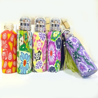 10ml Refillable Glass Perfume Bottle Roller Fimo Clay Essent...