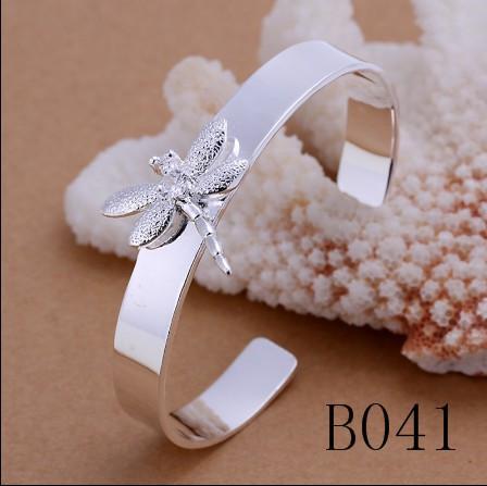 Gemengde orde mode-sieraden 925 zilveren armbanden bedelarmbanden voor vrouwen Topkwaliteit Gratis verzending /