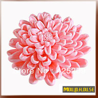 FDA bloom craft - 3D blooming chrysanthemums Soap mold silicone molds mold soap fondant candle molds sugar craft tools