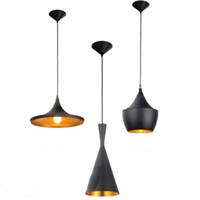 Wholesale Tom Dixon Beat Pendant Lights - 3 X Lights Modern TOM Dixon Beat Kitchen House Bar Pendant Lamp Ceiling Light