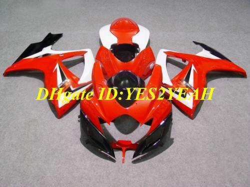Carrozzeria Carena iniezione 2006 2007 SUZUKI GSXR600 750 GSXR 600 GSXR750 K6 06 07 GSXR 750 Carrozzeria carene SJ50