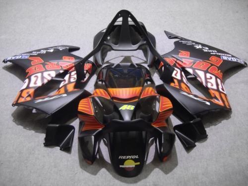 Colorie plate Rossi 46 Corps de carénage pour Honda VFR800 Intercepteur VFR 800RR 2002 2003 2004 2007 2007 02 03 04 05 06 07 Catériel