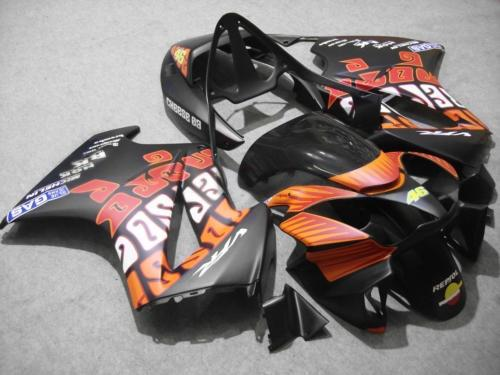 Płaski kolor Rosssi 46 Łwycenia ciała dla Honda VFr800 Interceptor VFR 800RR 2002 2003 2004 2007 02 03 04 05 06 07 Owalnia