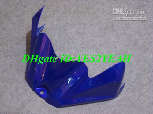 Carroçaria de Juntas de Injeção para 2008 2009 SUZUKI GSXR600 750 GSXR 600 GSXR750 K8 08 09 GSXR 750 branco azul Carenagem corpo kit SY26