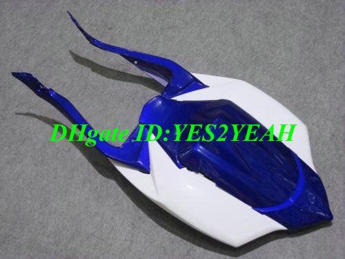 Carrozzeria carene iniezione 2008 2009 SUZUKI GSXR600 750 GSXR 600 GSXR750 K8 08 09 GSXR 750 bianco blu Carrozzeria carrozzeria SY26
