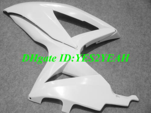 Carrosserie injection carénage pour 2008 2009 SUZUKI GSXR600 750 GSXR 600 GSXR750 K8 08 09 GSXR 750 blanc kit carénage SY36