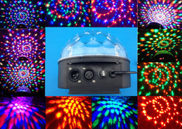 Wholesale Dj Laser Light Ball - New Digital LED RGB Crystal Magic Ball Effect Light DMX Disco DJ Laser Stage Light Lighting 110V-240V