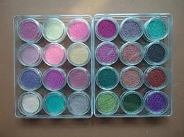 Wholesale Manicure Beads - Fashion 48 Colors Mini Beads Decoration Ball Nail Art Caviar Nails Caviar Manicure 3D Decoration#120