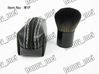 Wholesale Goat Bags - Factory Direct DHL Free Shipping New Makeup Blusher 182 Brush With Leather Bag!