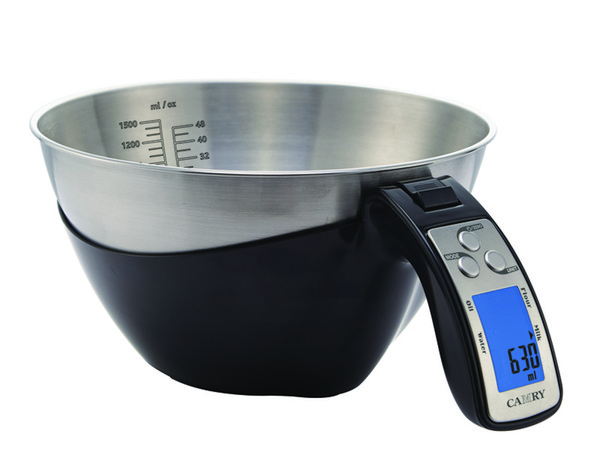 Portable en Acier Inoxydable Digital Kitchen Scale for Food Cooking grammes de mesure