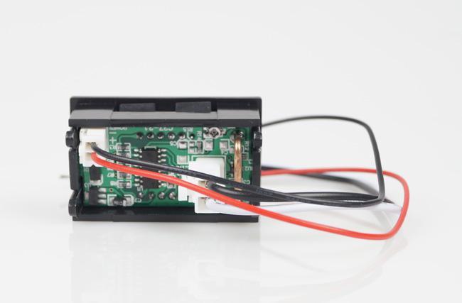 Spedizione Gratuita DC 0- 9.99A Misuratore di pannello rosso Amperometro di corrente digitale Ampere Misuratore di pannello 4.5-28VDC BV205 @CF