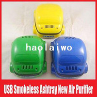 Wholesale USB Smokeless Ashtray New Air Purifier