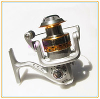 Wholesale Shiping Reels - 1PC Spinning Reel SG-3000A 5.1:1 GEAR RATIO High Quality Metal Spinning Reels Fishing Tackle (FR002) Fishing Reels free shiping