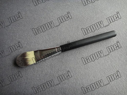 Wholesale Plastic Bags Free Shipping - Factory Direct DHL Free Shipping New Makeup Brushes Foundation Brush 190 Brush With Plastic Bag!666