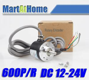 Free Shipping New 600P/R Incremental Rotary Encoder 6mm Shaft DC 5-24V SM548 @CF