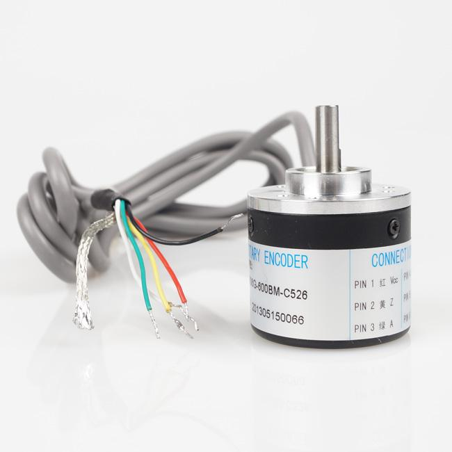 New 600P/R Incremental Rotary Encoder 6mm Shaft DC 5-24V SM548 @CF