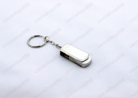 Wholesale steel flash drive - 60pcs lot For 64GB Stainless steel USB Flash Drive disk memory stick Pendrives thumbdrives