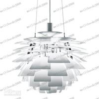 Wholesale Chandelier Artichokes - LLFA27 Modern Fashion PH Artichoke Lamp Design By Poul Henningsen Pendant Lamp Chandelier Dia 48CM