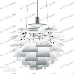 Wholesale Ph Modern Lamp - LLFA27 Modern Fashion PH Artichoke Lamp Design By Poul Henningsen Pendant Lamp Chandelier Dia 48CM