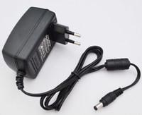 fuente de alimentación de ca dc 48v al por mayor-50 UNIDS AC 100V-240V Convertidor Adaptador DC 12V 2A / 9V 2A / 24V 1A / 5V 3A / 15V 2A Cargador de la fuente de alimentación enchufe de la UE + envío expreso gratuito