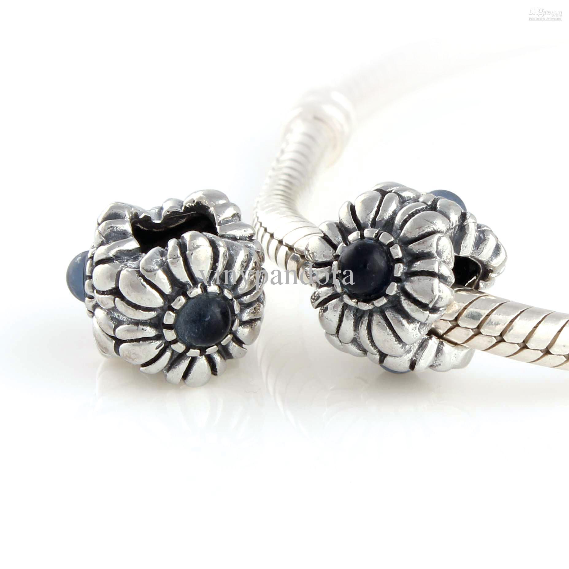 2019 925 Sterling Silver Sapphire Floral September