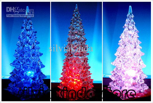 see larger image - Light Up Christmas Tree