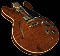 ingrosso classica chitarra-Custom Shop Classic Tiger Brown Semi Hollow 335 Chitarre Chitarre Jazz all'ingrosso