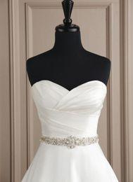 Wholesale Exquisite Beaded Wedding Dress - New fashion 2014 Gorgeous exquisite workmanship shining crystal beaded bridal wedding dresses sashes wedding belts Bridal Accessories 053