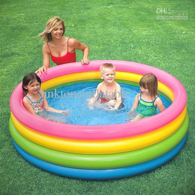 2019 Wholesale Children Summer Swimming Pool Baby Play Pool Kids Bath Tub  Inflatable Childred Floats From Linktoneinflatable, $31.36 | DHgate.Com