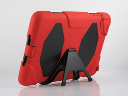 Wholesale Heavy Leather Belt - Military Heavy duty Shockproof Case & Stand Belt Clip for ipad Mini 2 Retina Ipad 2 3 4 5 air with Retail Package factory price