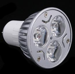 halogênio, inundação, luz, lâmpadas Desconto substituição 50 W normal um GU10 / E27 / E14 / GU5.3 Rotundity CREE Light 9 W 3x3W dimmable Alta potência