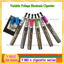 Wholesale High Tech Electronic Cigarette - High-Tech e cigarette variable voltage electronic cigarette Vmax excellent ecigs with great vapor,Multifunctional Vmax voltage adjustable