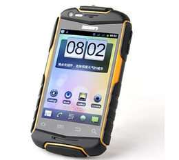Wholesale Discovery V5 Dual Sim - Dual core Discovery V5+ 3.5 Inch Capacitive Screen Android 2.3 SC8810 1.0GHZ waterproof splash mobile phone Shockproof Dustproof ZQ1