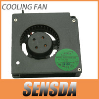Wholesale Wholesale Blower Fans - Free Shipping ADDA AB5512HX-G00 DC12V 0.19A Server Cooling Fan Server Blower Fan 5.5cm 2-wire