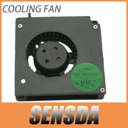Wholesale Wholesale Computer Servers - Free Shipping ADDA AB5512HX-G00 DC12V 0.19A Server Cooling Fan Server Blower Fan 5.5cm 2-wire