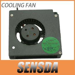 Fan pour adda en Ligne-Livraison Gratuite ADDA AB5512HX-G00 DC12V 0.19A Serveur De Refroidissement Ventilateur Serveur Ventilateur 5.5 cm 2 fils