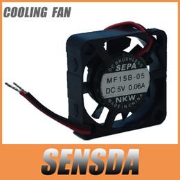 новый SEPA MF15B-05 5V 0.06 a 1.5 см 15 мм 1505 15x15x5 мм мини микро вентилятор охлаждения сервера вентилятор cheap sepa fan от Поставщики вентилятор sepa
