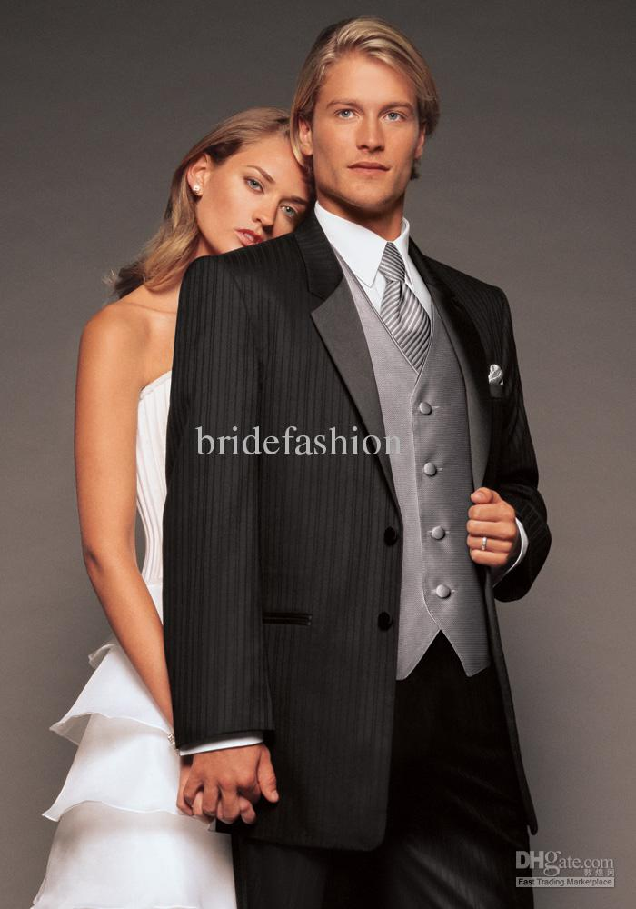 High Quality Handsome Best Man Custom Made Tuxedo(jacket+pant+tie+waistcoat)