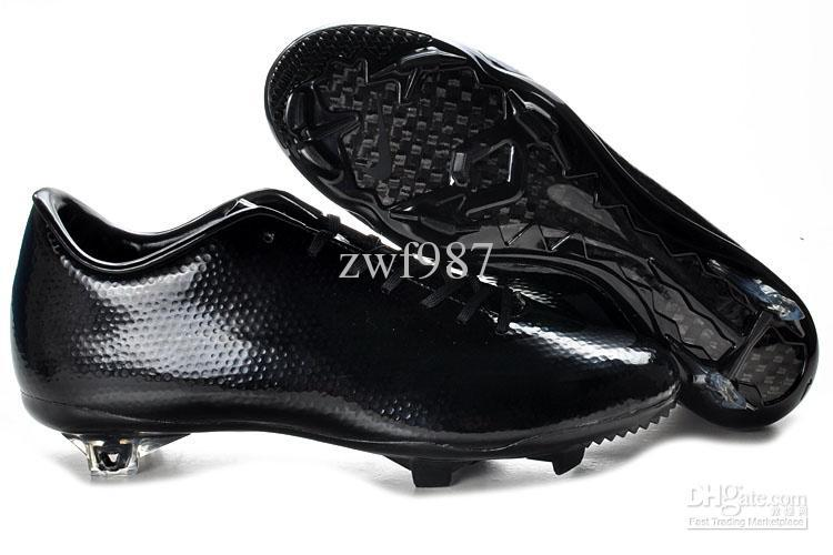LATEST Outdoor ALL BLACK Cleats Men Football Shoes Men s Soccer Shoes Mens  Athletic Sneakers With Box Canada 2019 From Sportshoes2012 b9791fe98