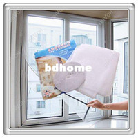 Wholesale Mesh Netting Windows - Free shipping High Quality Insect Fly Mosquito Window Net Netting Mesh Screen New curtains