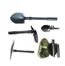 Vente au détail Mini pelle pliante multi-fonction survie truelle dibble pick camping en plein air outil ? partir de fabricateur