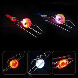 $enCountryForm.capitalKeyWord Canada - 140pcs lot EMS Colorful Magic gyro Flash yoyo Wheels Auto Flip ball Kids Led Toys track yo-yo Gifts Christmas toys