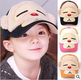 Wholesale Baby cap hats New fashion baby Monkey cap hat baseball cap hat baby summer sun hat cheap cap hat