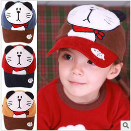 Wholesale Baby cap hats New fashion baby Jingle cats cap hat baseball cap hat baby summer sun hat baby cheap hat