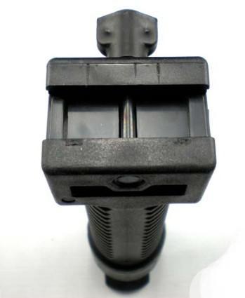 Bipod retráctil reforzado negro reforzado