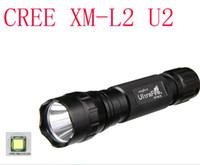 Wholesale Torch Cree U2 - wholesale Free shipping NEW 1800lm 501B U2 CREE XM-L L2 u2 Flashlight Torch light