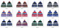 Wholesale Stocking Cap Wholesale - New NRL Team Beanies Caps Sports Hats 19 Types Mix Match Order All Caps in stock Top Quality Hat