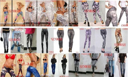 Wholesale Tight Sexy Jeans Woman - New Fashion Women Sexy Leggings Pants Jeans Jeggings Slim Tights 200pcs
